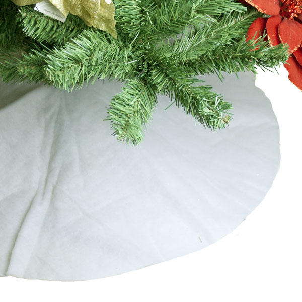 White Tree Skirt - 100cm (014-24011)