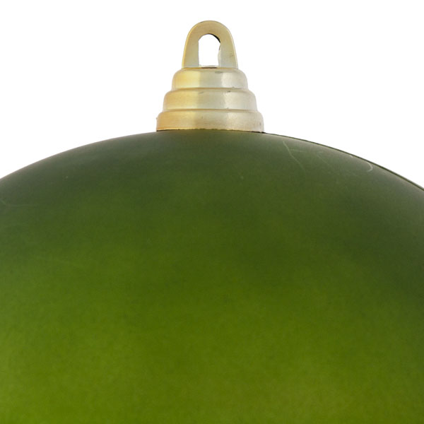 Green Shatterproof Baubles  - Single 200mm Matt