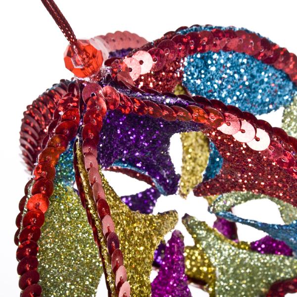 Multi Colour Segmented Hanger - 10cm