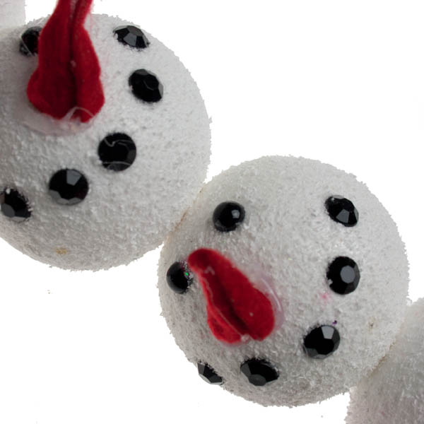 Hanging Snowmen Heads Decorations (022-19826)