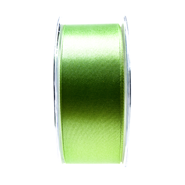 Intense Green Double Face Satin Ribbon - 25m x 38mm