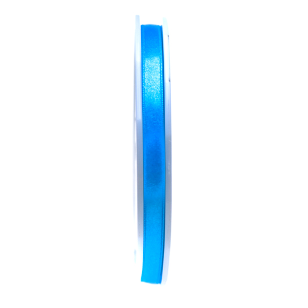 Turquoise Double Face Satin Ribbon - 50m x 10mm