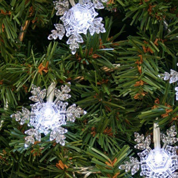 noma 24 outdoor battery operated led christmas lights. noma 3.45m length of 24 white indoor and outdoor led snowflake fairy lights battery operated led christmas e