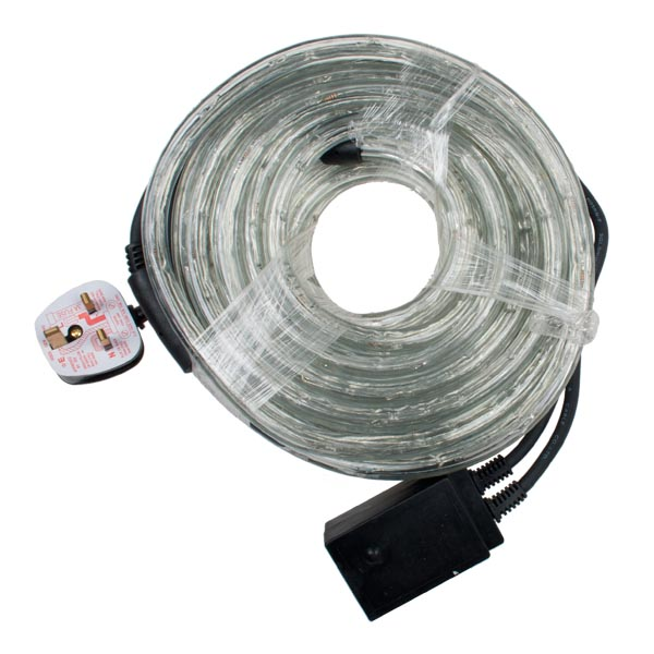 Multi Action 9m Outdoor Red LED Ropelight