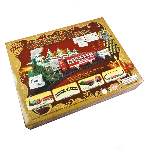 Battery Operated 23 Piece Train Set