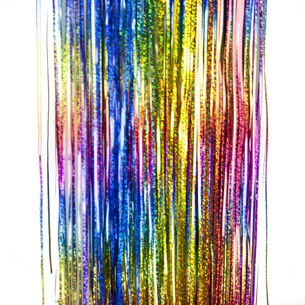 Multicoloured Laser Lametta - 50cm x 40cm