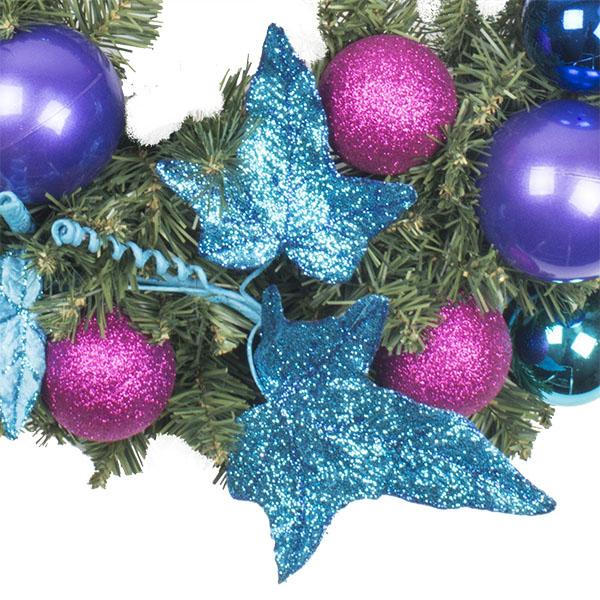 Berry Christmas Theme Range - 60cm Pre-Decorated Wreath