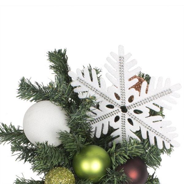 Winter Woodland Theme Range - 60cm Pre-Decorated Teardrop