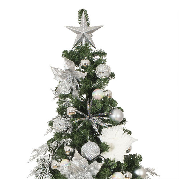 Simply Silver Theme Range - Decor Pack ONLY (6ft Tree)