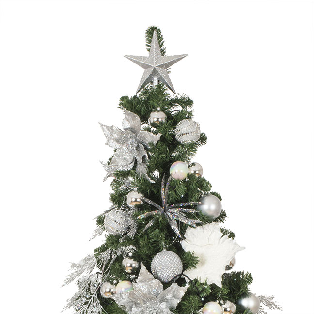 Simply Silver Theme Range - 6ft Tree Pack