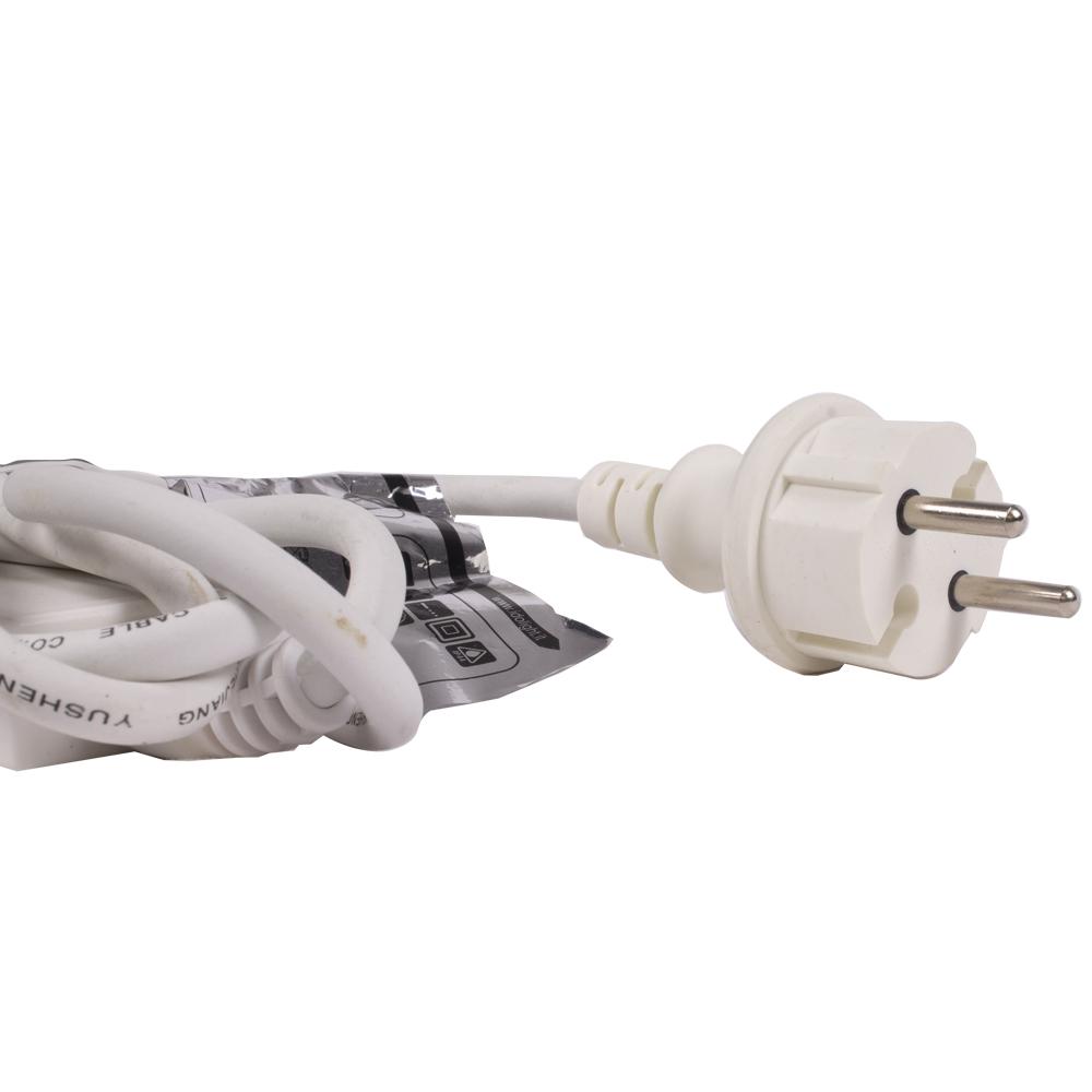Idolight 230v LED ICICLE Light - White - 3m X 0.9m White Cable - Static
