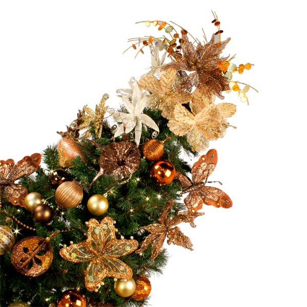 ... Chocolate Orange Theme Tree Decorating Pack ...