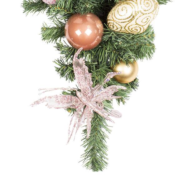 Nostalgic Christmas Theme Range - 60cm Pre-Decorated Teardrop