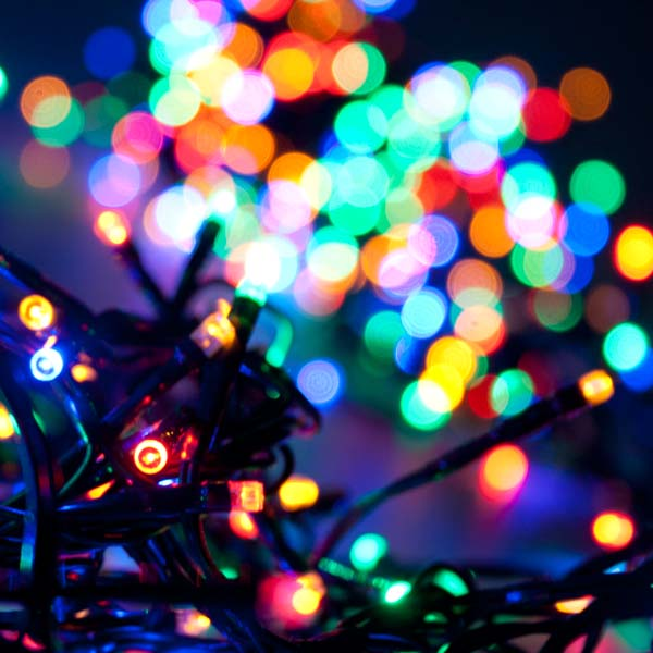 Premier 9.3m Length Of 720 Multiaction Multicoloured Outdoor LED Cluster Fairy Lights Green Cable