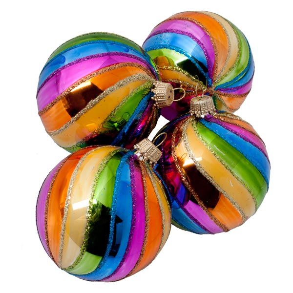 Multi-Coloured Baubles