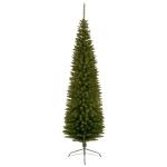Green PVC Pencil Pine Tree - 2.2m