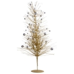015-21279-DT-100 £25 Gold & Silver Sparkle Burst Display Tree - 100cm...  Click to view