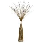015-21279-ST-85 £13 Gold & Silver Sparkle Burst Spray Tree - 85cm...  Click to view