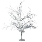 015-21408-SL £14 Silver Glitzy Table Top Twig Tree - 60cm...  Click to view