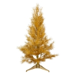 015-21427-GD £23 Gold Bamboo Design Glitter Table Top Tree - 60cm...  Click to view