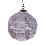 021-06442-SV £4.75 Silver Ribbon Bauble - 80mm...  Click to view