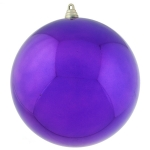 021-14576-250-PU £14 Purple Baubles Shiny Shatterproof - Single 250mm...  Click to view