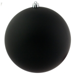 021-14803-250-BK £14 Black Shatterproof Baubles  - Single 250mm Matt...  Click to view