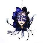 022-06435-BK £6.5 Black/Purple Mask Decoration - 20cm...  Click to view