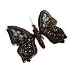 022-06972-12-BPL £2 Eastern Promise Brown and Pearl 12.5cm Butterfly...  Click to view