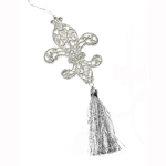 022-07184 £2 Champagne Silver Cross With Tassel - 22cm...  Click to view