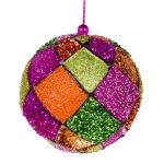 022-10312-PK £4.75 Pink, Orange & Green Decorative Harlequin Beaded B...  Click to view