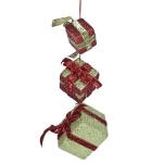 022-10317-RG £6.25 Red And Green Hanging Gift Box Set - 16cm X 5cm...  Click to view