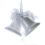 022-12022-PW £5 Pearl White Double Mini Bells - 50mm...  Click to view