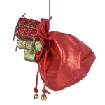 022-13485 £7.5 Hanging Sack Of Parcels Decoration - 20cm...  Click to view