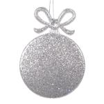 022-13834-SL-RD £2 Platinum Round Gift Box Shape Decoration - 9cm...  Click to view