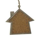 022-18399-HS £1 Brown House Decoration - 9cm x 11cm...  Click to view