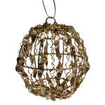 022-20132-GD £2.5 Gold Sequin Ball Decoration - 15cm...  Click to view