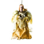 024-10711-GD £6.75 Gold Angel Decoration - 18cm...  Click to view