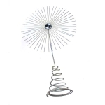 024-11249-WH £12 Gisela Graham White Glitter Jewel Starburst Tree T...  Click to view