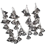 031-18667-AS £7.5 Metal Garland With Antique Silver Bells - 1m In Le...  Click to view