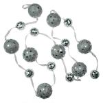 031-19810 £10.5 Silver Glitter Ball Garland - 180cm...  Click to view