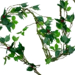 Holly Vine Garland - 1.8m