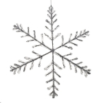 032-15691-91-CO £55 91.5cm X 5cm White Contemporary Design Snowflake D...  Click to view