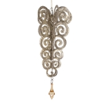 032-16149-MED £2.5 Upside Down Champagne Gold Tree Hanging Decoration...  Click to view