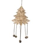 032-16161-LAR £3 Gold Christmas Tree Decoration - 16.5cm x 20cm...  Click to view