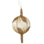 032-17931-GD-17 £5 Gold Sheer Mesh Ball Decoration - 17cm...  Click to view