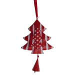 032-18428-TR £2 Hanging Red And White Tree - 12cm...  Click to view