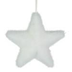 032-21775-WH £4 White Star With Iridescent Flecks - 15cm...  Click to view