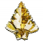034-04177-GC £6 Gold/Cream Foil Hanging Tree Decoration - 40cm (16...  Click to view