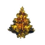 034-04177-GD £6 Gold Foil Hanging Tree Decoration - 40cm (16